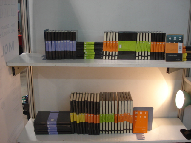 Moleskine Display 01 2008