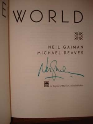 Interworld Signed by Neil Gaiman