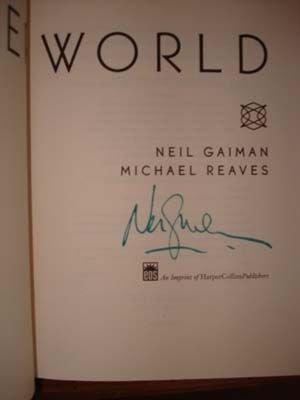 Interworld Signed by Neil Gaiman