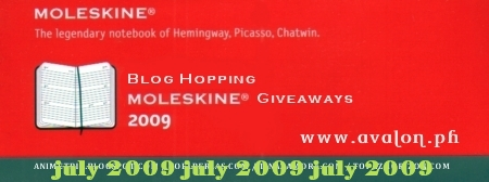 Blog Hopping Moleskine Giveaways 2009