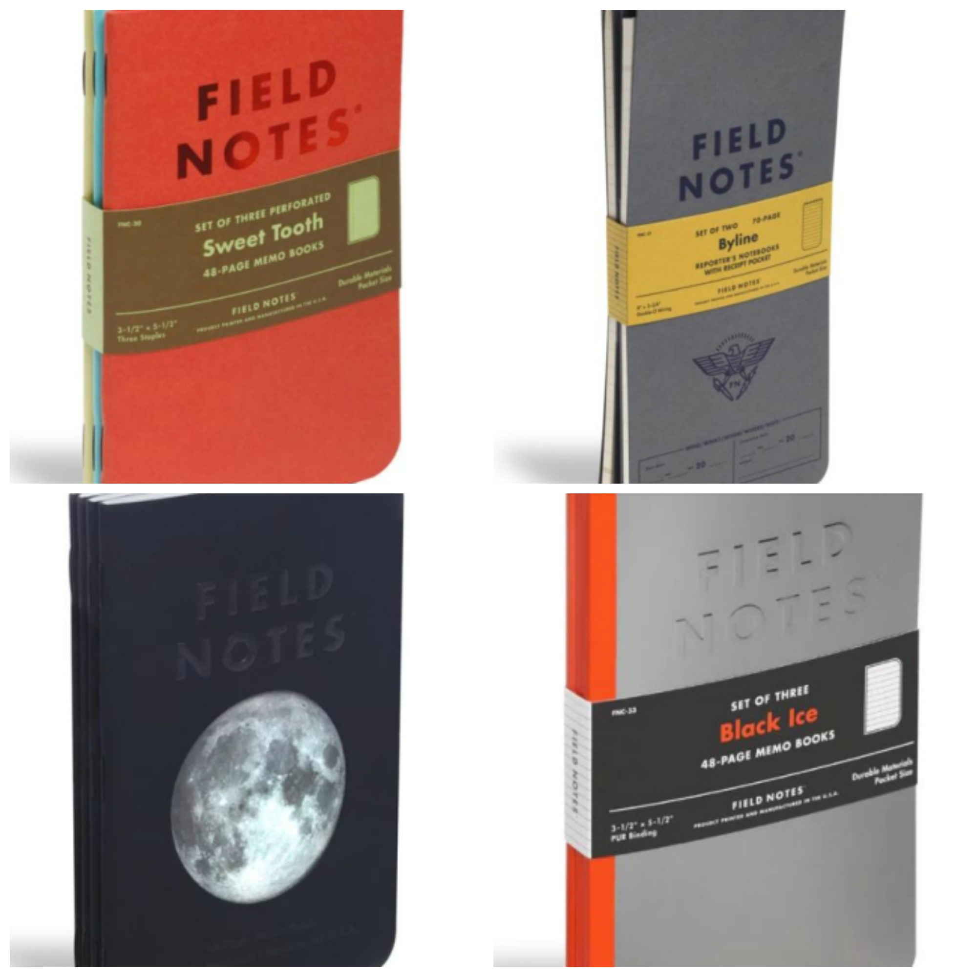 Field Notes 2016 Limited Editions